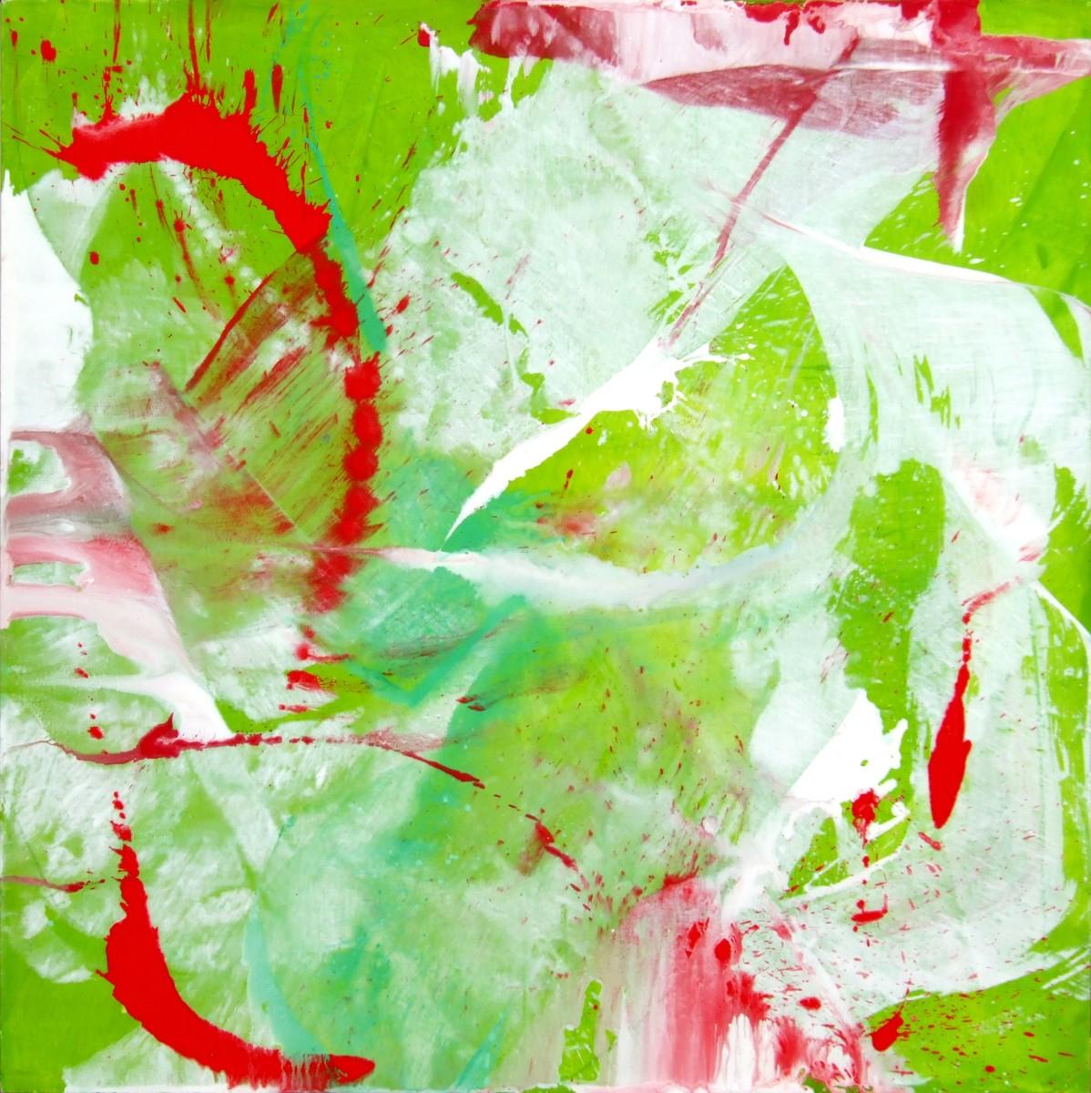 Autre danse, 2008, acrylique sur toile, 180 x180 cm