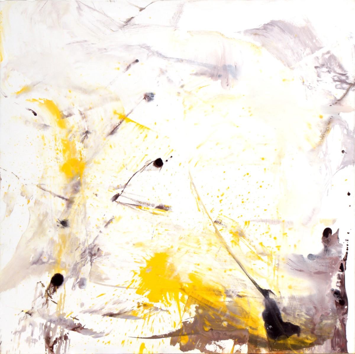 Pas de deux, 2008, acrylique sur toile, 180x180 cm