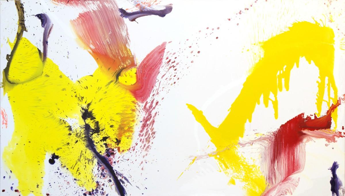 En attente de titre, 2012, 260X162 cm, technique mixte sur toile