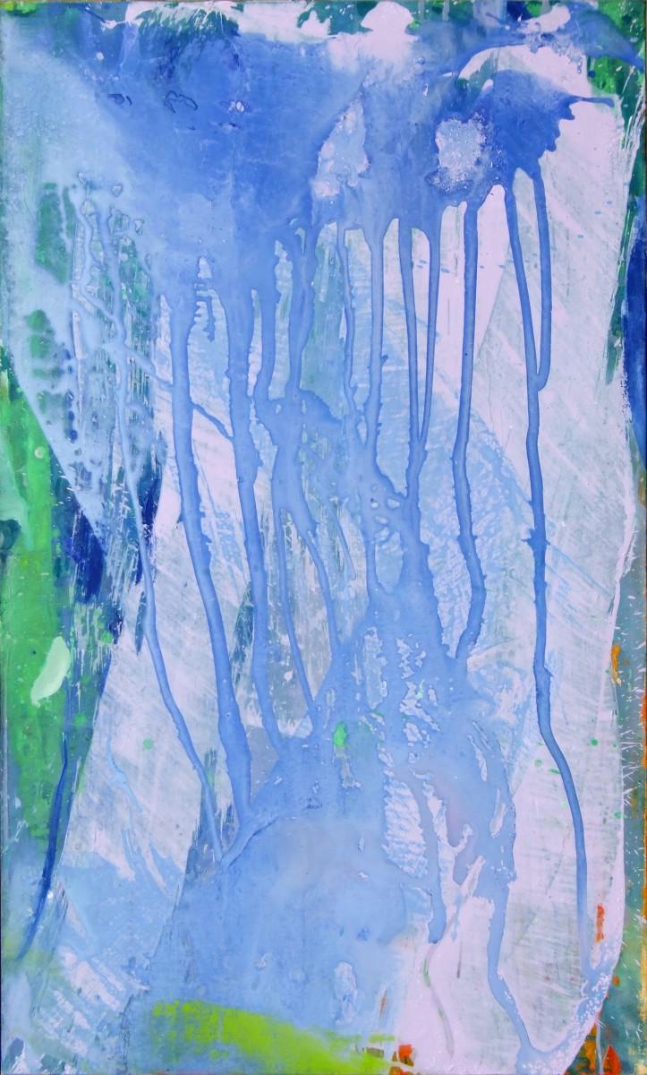 Lumière de mars, 2007, acrylique sur toile, 162 x 97 cm