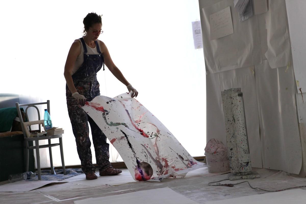 Dépose papier atelier