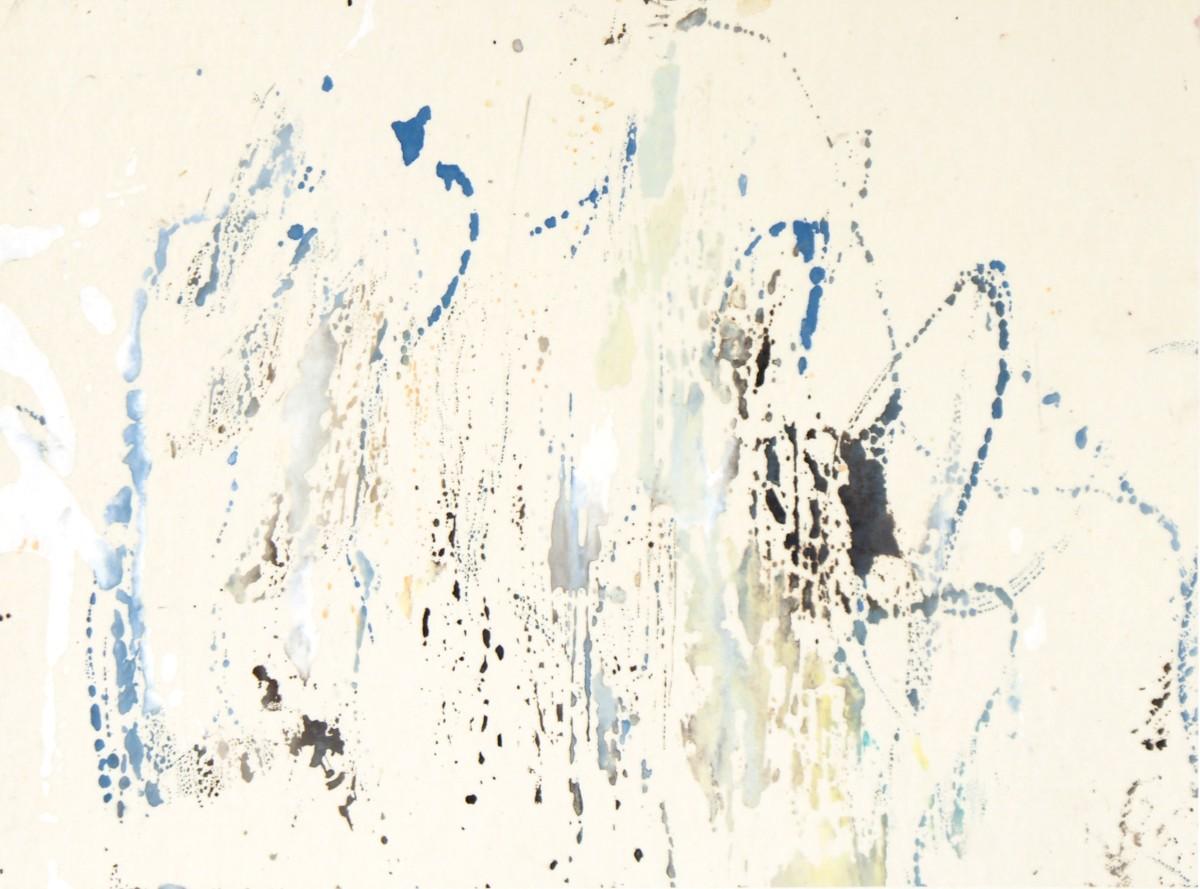 Balade 3, 2010, 24 x33 cm, encre et guache sur chine marouflé sur carton