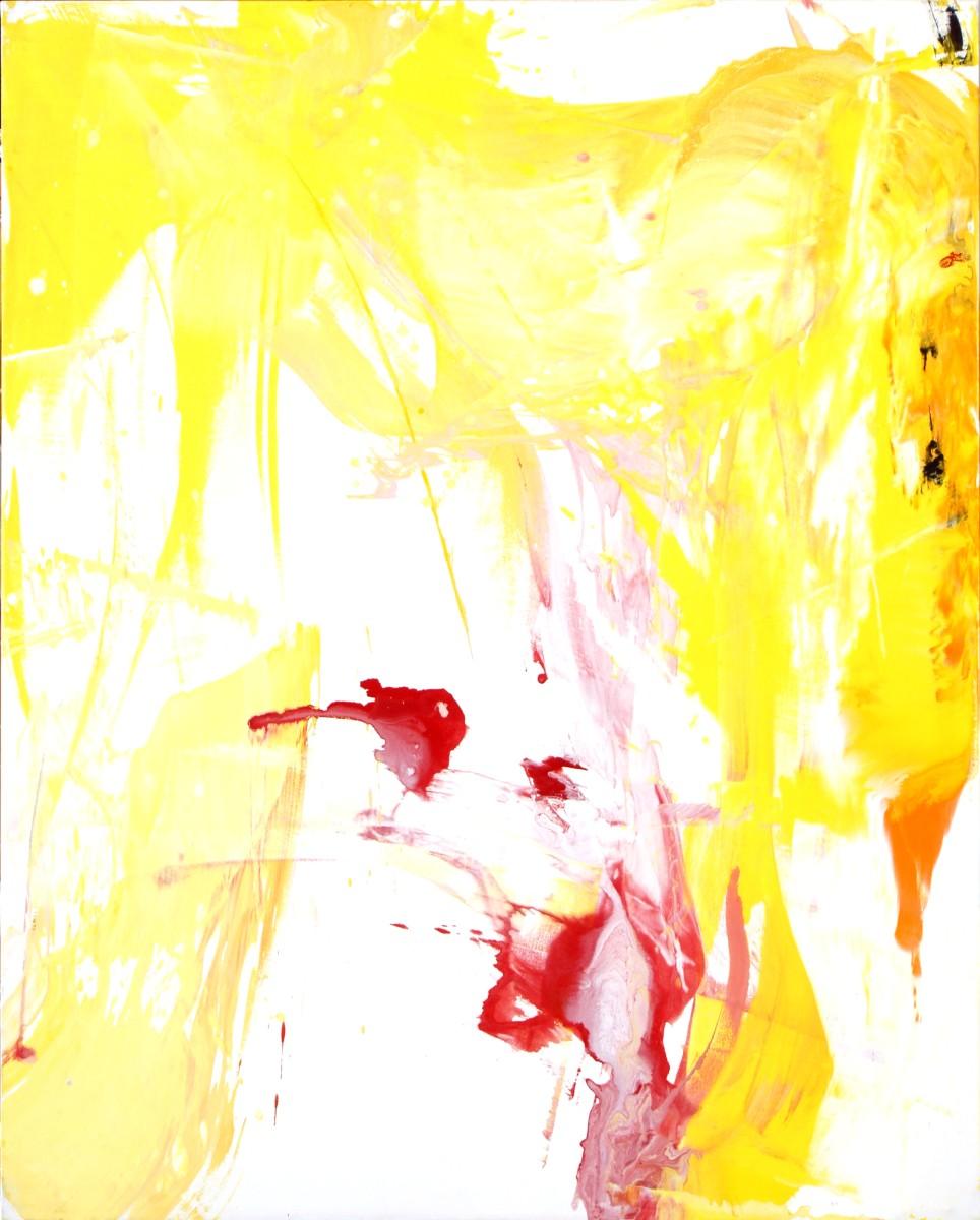 « Suspension », 2008, acrylique sur toile, 200x160 cm