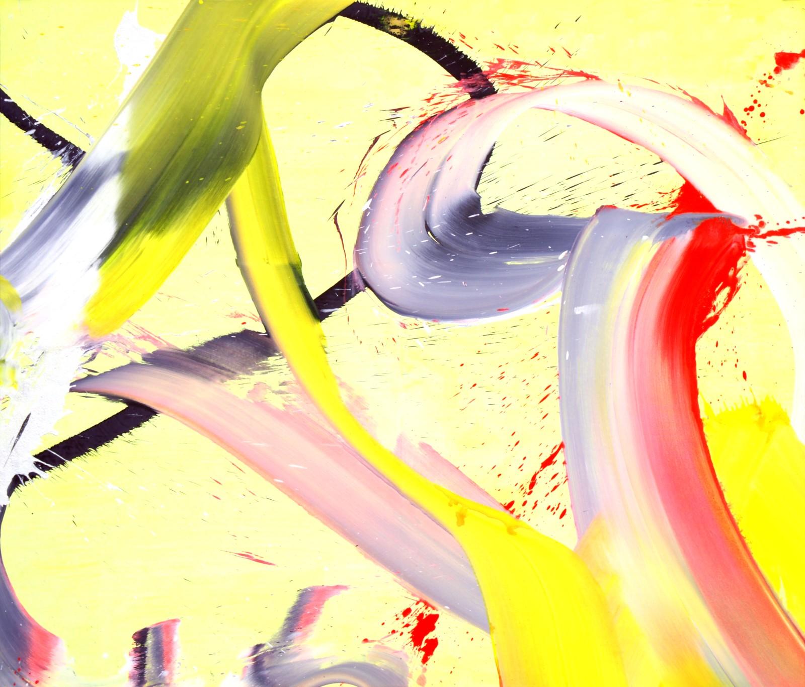 Sans titre 2015 technique mixte sur toile 195x166 cm